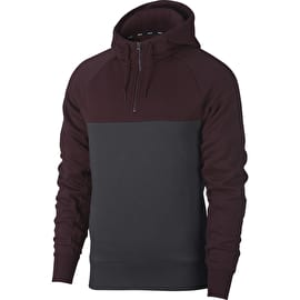 Nike SB Icon Hoodie - Burgundy Crush/Anthracite/Burgundy Crush