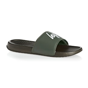 Hype Core Sliders Flip-Flops - Khaki