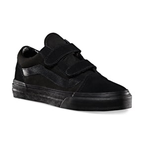 Vans Old Skool V Kids Shoes - Black/Black