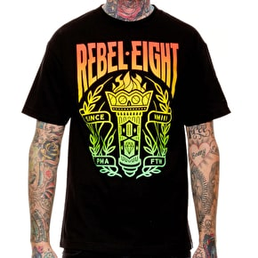 Rebel8 Torch T-Shirt - Black