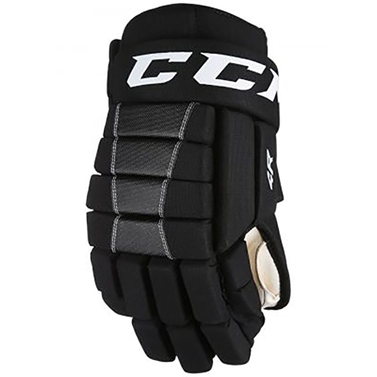CCM 4 Roll Ice Hockey Gloves - Youth