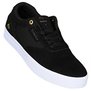Emerica Empire G6 Skate Shoes - Black/White