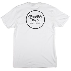 Brixton Wheeler II Short Sleeve Standard T-Shirt - White