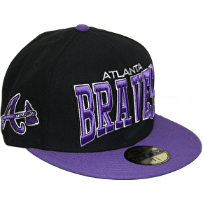 New Era 59Fifty Pro Arch Atlanta Braves Fitted Cap