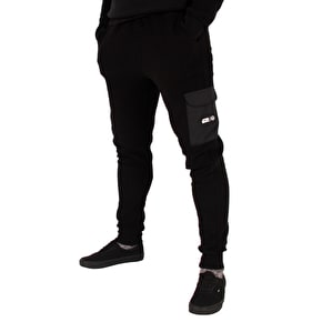 Hype Rebel Cargo Joggers - Black