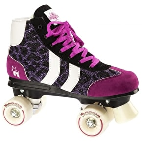 Rookie Retro Roller Skates - Purple Glitter