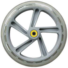 JD Bug Street 200mm Scooter Wheel - Clear w/Bearings