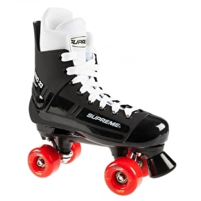Supreme Quad Roller Skates - Turbo Flash SixtyTwo 78a Black/Red