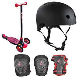 Y-Volution Y Glider Deluxe 1.0 Complete Scooter Bundle