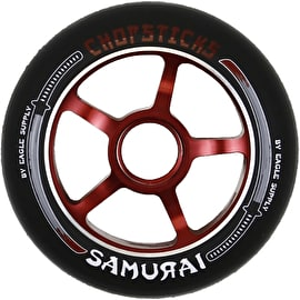 ChopSticks 100mm Samurai Wheel - Black PU