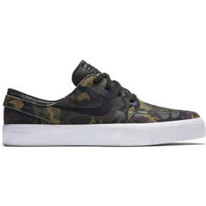 Nike SB Zoom Janoski HT Skate Shoes - White/Black