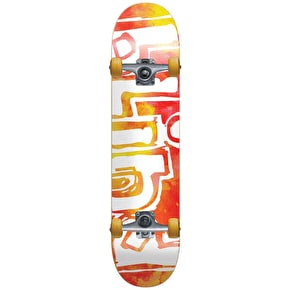 Blind Watercolour Complete Skateboard - Red/Yellow