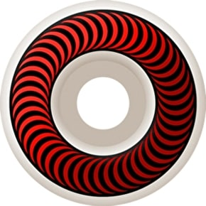 Spitfire Classic Skateboard Wheels - White/Red 51mm (Pack of 4)