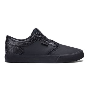 Supra Shredder Shoes - Black/Black/Black