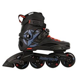 Rollerblade RB Cruiser Inline Skates - Black/Grey Blue