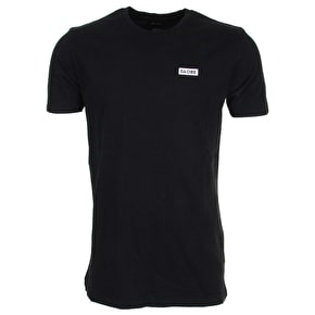 Globe Block T-Shirt - Black
