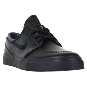 Nike SB Zoom Stefan Janoski L Shoes - Black/Black