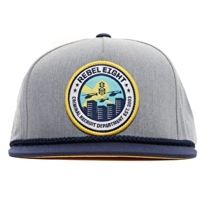 Rebel8 Recruiters Snapback Cap - Grey