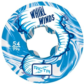Ricta Whirlwinds 99a Skateboard Wheels - Blue 54mm (Pack of 4)