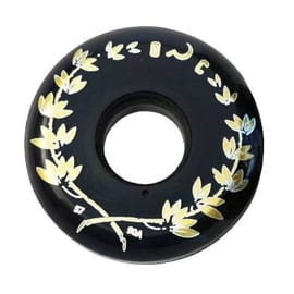 Ground Control Crest 57mm 90a Inline Skate Wheels - Black (4pk)