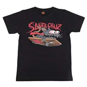 Santa Cruz Rat Slasher Kids T-Shirt - Black