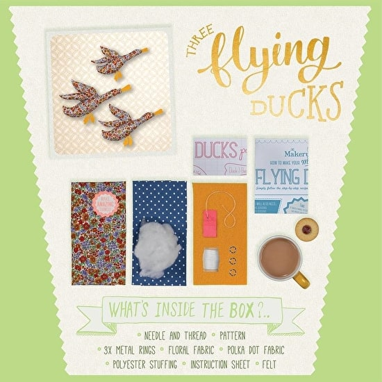 Make Your Own Flying Ducks Kit