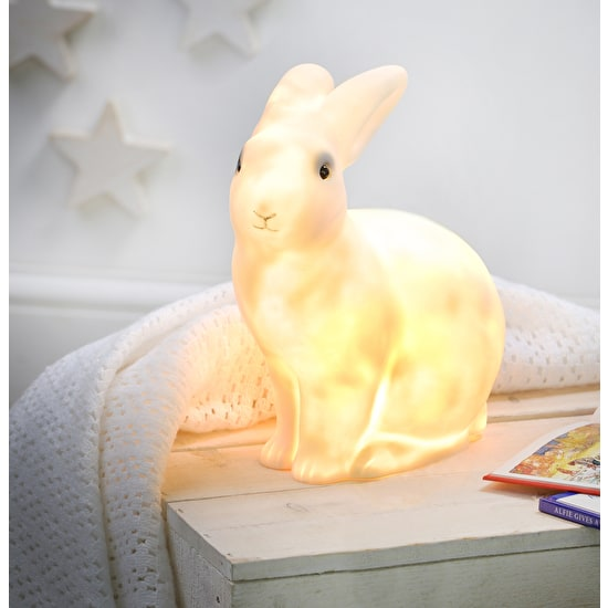 White Rabbit Lamp