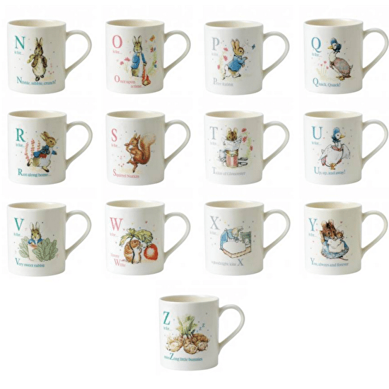 Beatrix Potter Easter Mug With Mini Eggs
