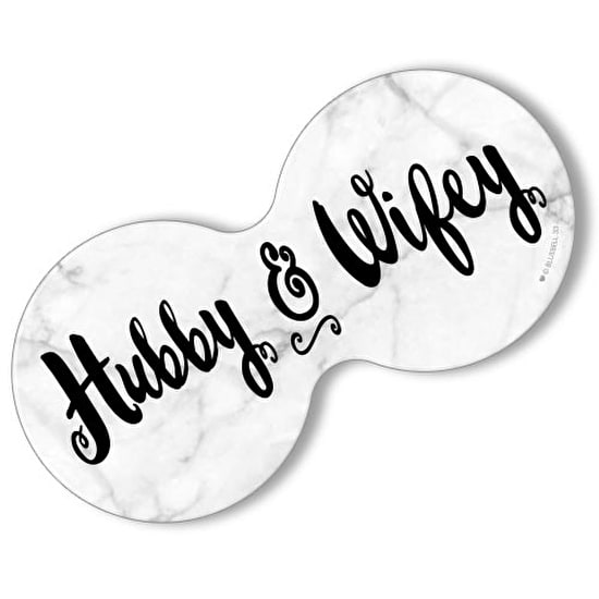 Hubby and Wifey Double Coaster