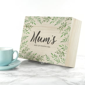 Personalised Positivi-Tea Tea Box