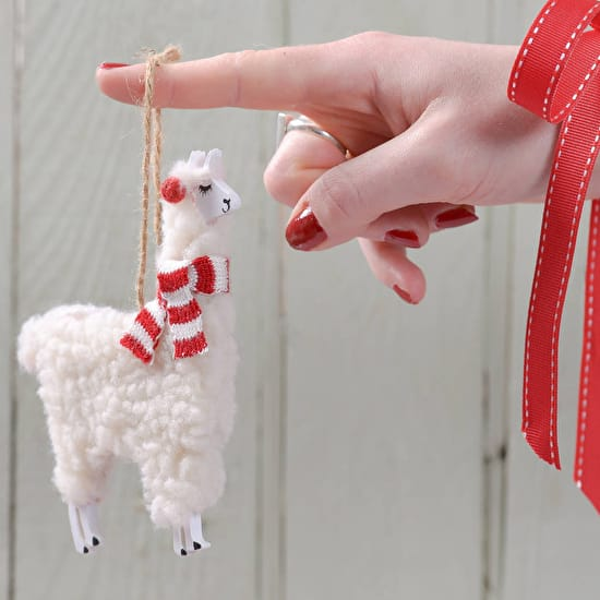 llama christmas decoration - Llama Christmas Decoration