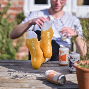 Personalised Beer Socks