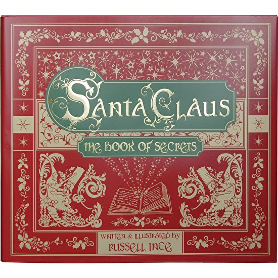 Personalised Book Of Santa Secrets