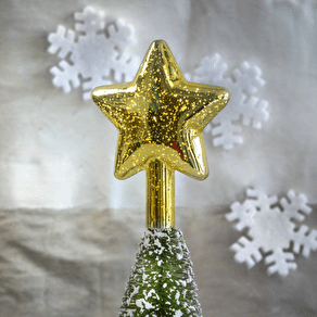 Gold LED Light Up Star Tree Topper
