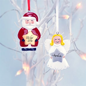 Personalised Family Stocking Decoration