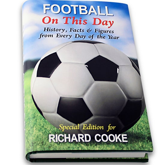 Personalised 'Football On This Day' Book