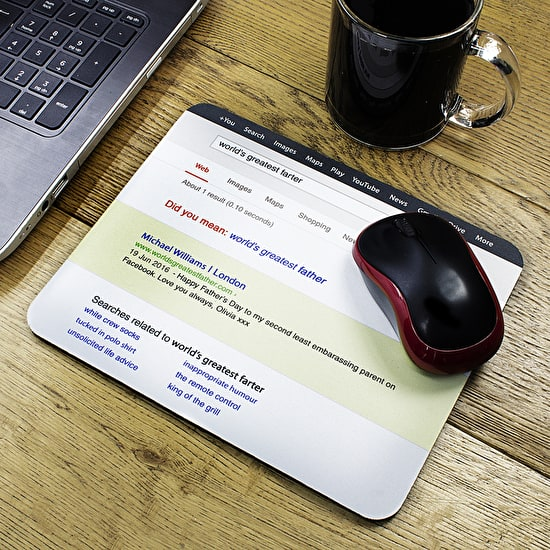 Personalised Dad's Mouse Mat