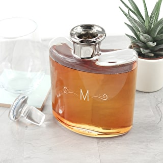 Magnificent Monogrammed LSA Decanter