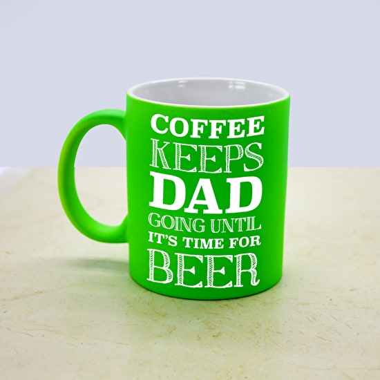 Coffee Or Beer Personalised Mug