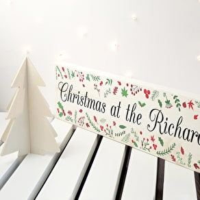 Festive Christmas Mantle Decoration