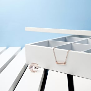 Personalised White Accessory Box