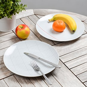 Paper Design Porcelain Plate Set
