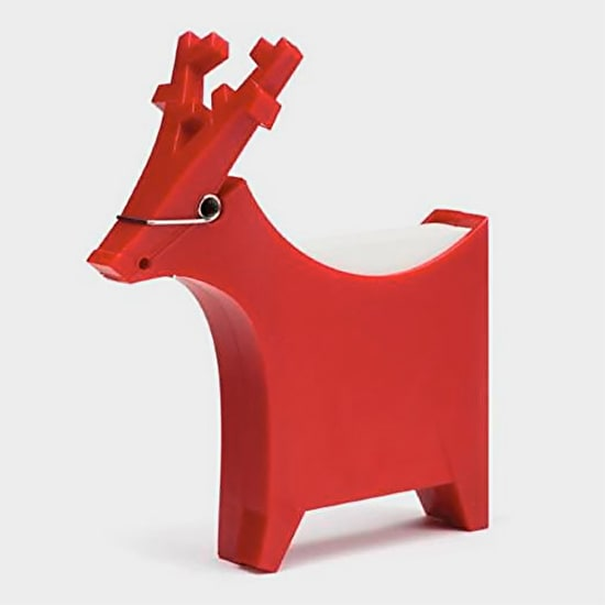 Robin Reindeer Shaped Memo Pad And Pen Holder