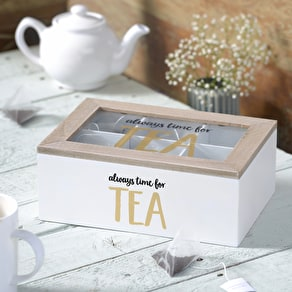 Wooden Tea Storage Box