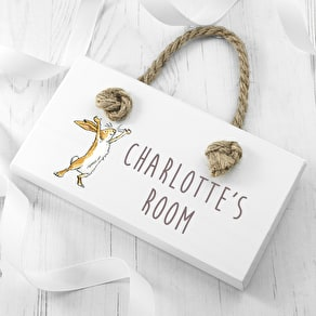 Cute Personalised Child's Door Sign