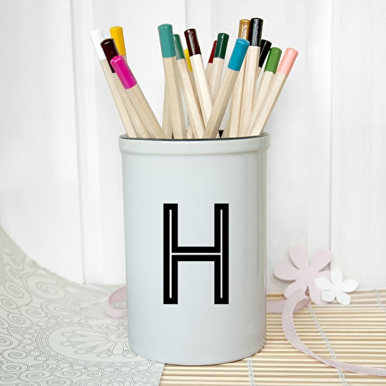 Exclusive Monogrammed Porcelain Holder