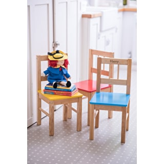 Personalised Child's Wooden Chair
