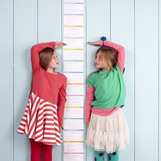 I'm As Big As... Height Chart