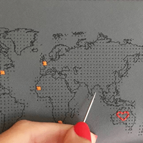 Stitch Your Own Passport Cover