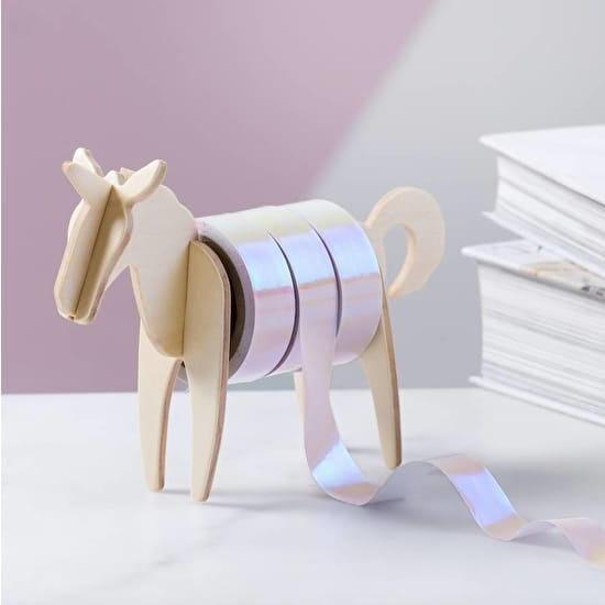 Unicorn Washi Tape And Dispenser
